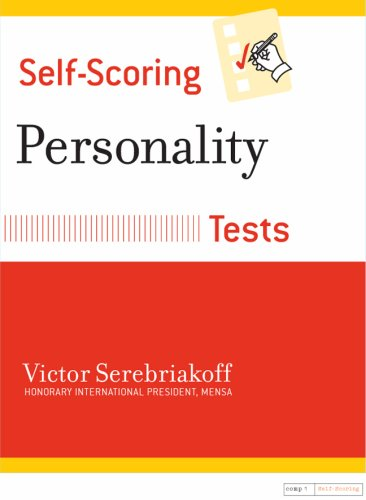 Self-Scoring Personality Tests  N/A edition cover