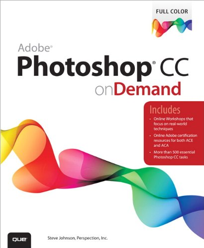 Adobe Photoshop CC on Demand   2014 edition cover