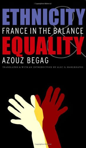 Ethnicity and Equality France in the Balance  2007 edition cover