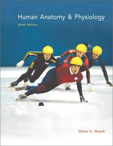 Human Anatomy and Physiology  6th 2004 edition cover
