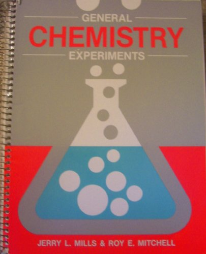 General Chemistry Experiments 2nd edition cover
