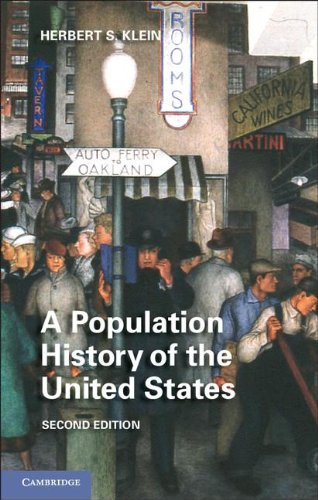 Population History of the United States  2nd 2012 edition cover