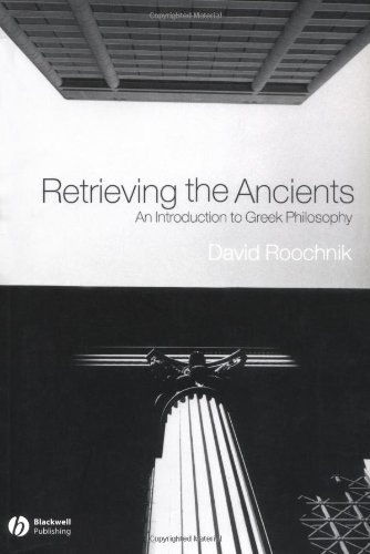 Retrieving the Ancients An Introduction to Greek Philosophy  2004 edition cover