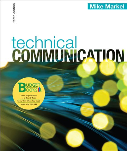Technical Communication  10th 2012 edition cover