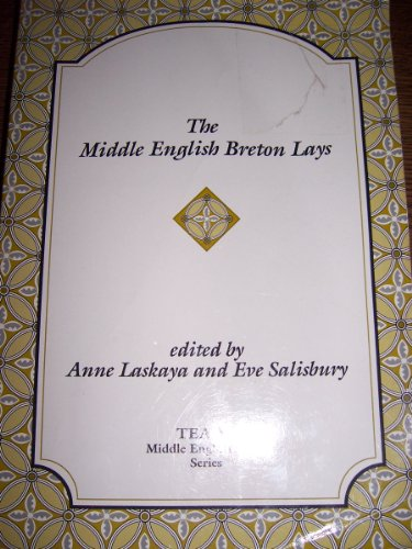 Middle English Breton Lays   1995 edition cover