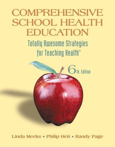 Comprehensive School Health Education  6th 2009 edition cover