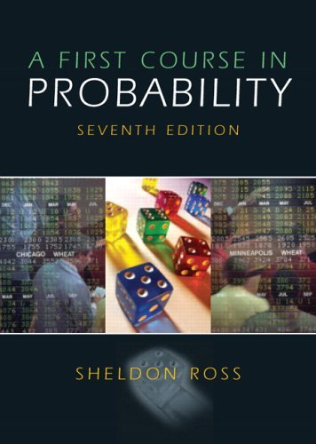 First Course in Probability  7th 2006 (Revised) edition cover