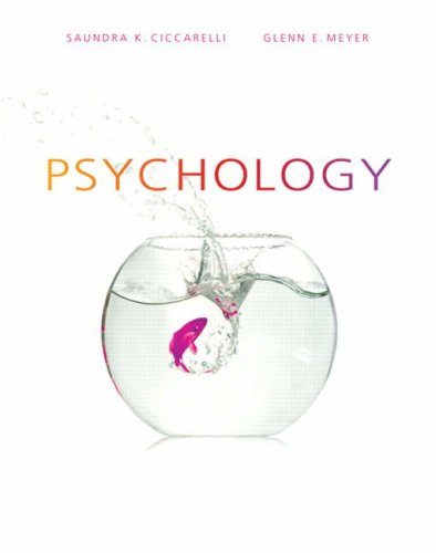 PSYCHOLOGY (PAPER) 1st 9780132198622 Front Cover