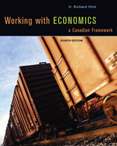 WORKING W/ECONOMICS-W/CD >CANA 8th 2008 edition cover
