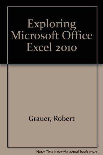 Microsoft Office Excel 2010   2011 9780135098622 Front Cover