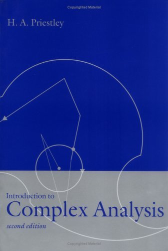 Introduction to Complex Analysis  2nd 2003 (Revised) edition cover