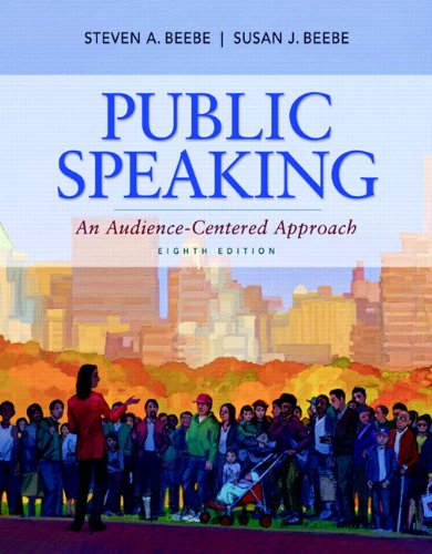Public Speaking An Audience-Centered Approach 8th 2012 edition cover