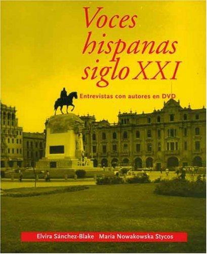Voces Hispanas Siglo XXI Entrevistas con Autores  2004 edition cover