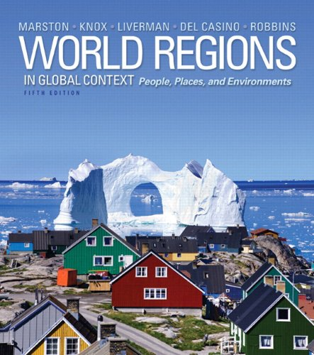 World Regions in Global Context Peoples, Places, and Environments Plus MasteringGeography with EText -- Access Card Package 5th 2014 edition cover