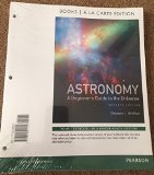 Astronomy A Beginner's Guide to the Universe, Books a la Carte Edition 7th 2013 edition cover