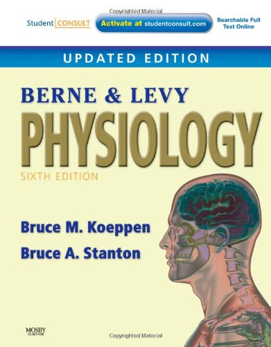Berne and Levy Physiology  6th 2010 (Revised) edition cover