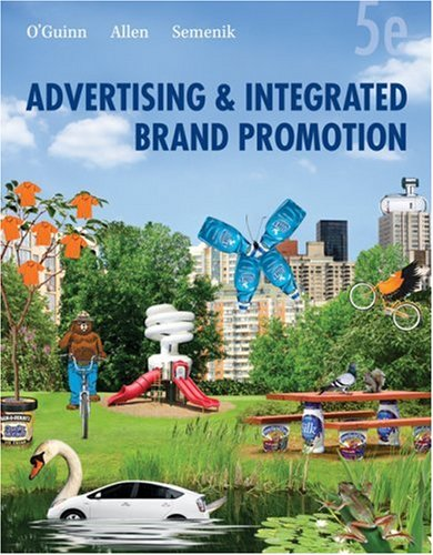 Advertising and Integrated Brand Promotion  5th 2009 edition cover