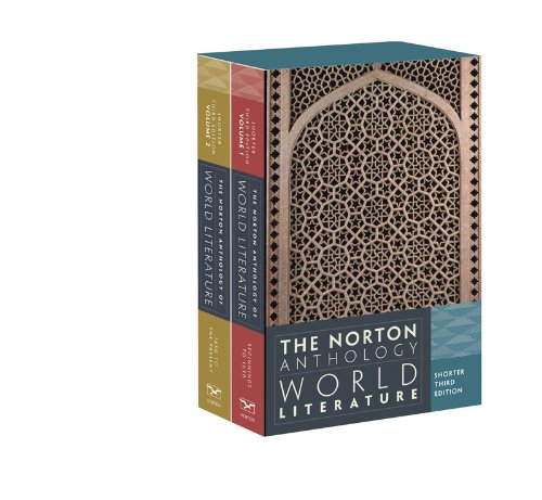 Norton Anthology of World Literature  3rd edition cover
