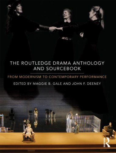 Routledge Drama Anthology and Sourcebook From Modernism to Contemporary Performance  2011 edition cover