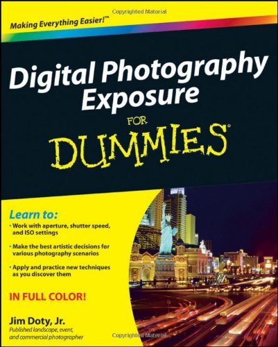 Digital Photography Exposure for Dummies   2011 edition cover