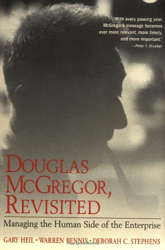 Douglas McGregor, Revisited Managing the Human Side of the Enterprise  2000 (Revised) edition cover