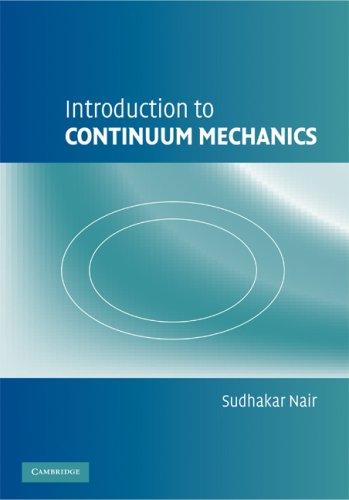 Introduction to Continuum Mechanics   2009 9780521875622 Front Cover