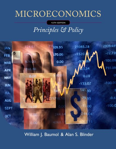 Microeconomics Principles and Policy 12th 2012 edition cover