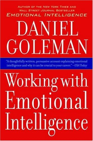 Working with Emotional Intelligence   2006 edition cover