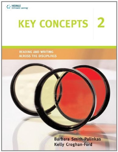 Key Concepts 2 Reading and Writing Across the Disciplines  2010 edition cover