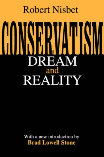 Conservatism Dream and Reality  2002 edition cover