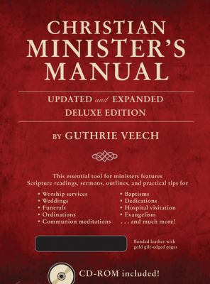 Christian Minister's Manual   2012 (Revised) edition cover