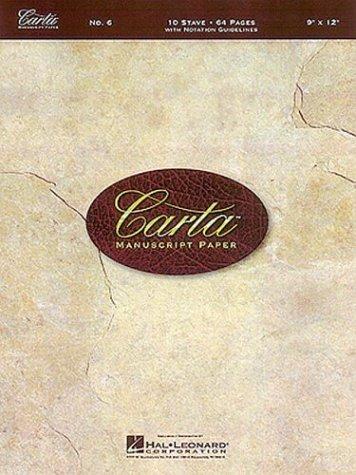 Carta Manuscript Paper  N/A edition cover