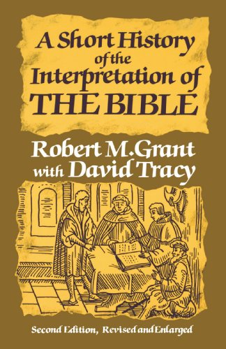 Short History of the Interpretation of the Bible  2nd edition cover