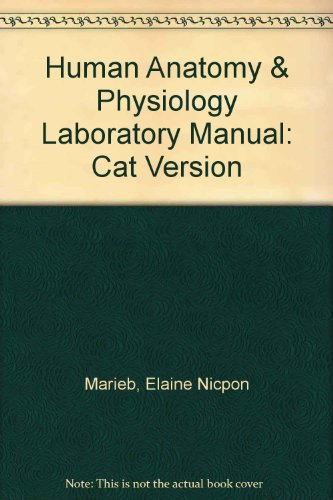 Human Anatomy and Physiology Laboratory Manual 9th 2008 edition cover
