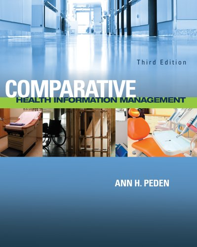 Comparative Health Information Management  3rd 2012 edition cover