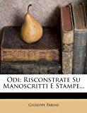 Odi: Risconstrate Su Manoscritti E Stampe...  0 edition cover