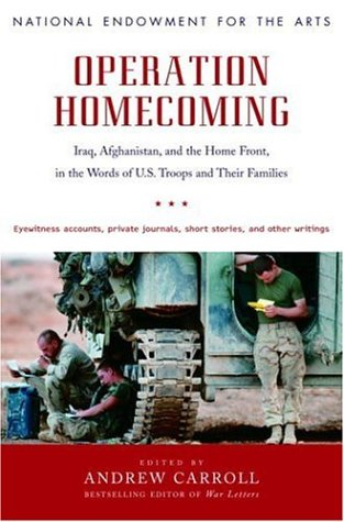 Operation Homecoming Iraq, Afghanistan, and the Home Front, in the Words of U. S. Troops and Their Families  2006 edition cover