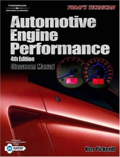 Automotive Engine Performance  4th 2006 (Revised) 9781418000622 Front Cover