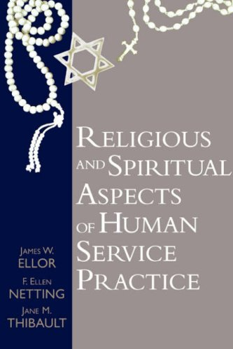 Religious and Spiritual Aspects of Human Service Practice   1999 edition cover