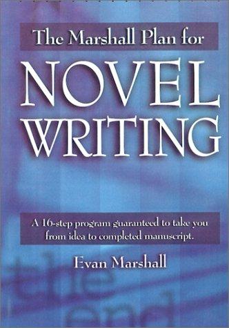 Marshall Plan for Novel Writing   2001 (Reprint) edition cover