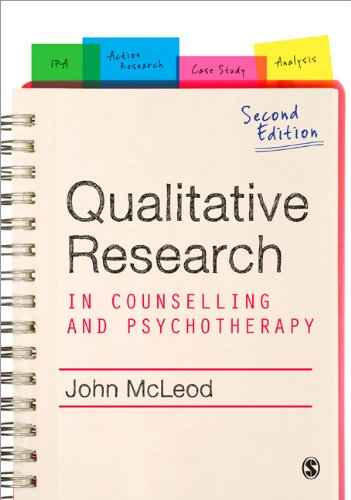 Qualitative Research in Counselling and Psychotherapy  2nd 2011 edition cover