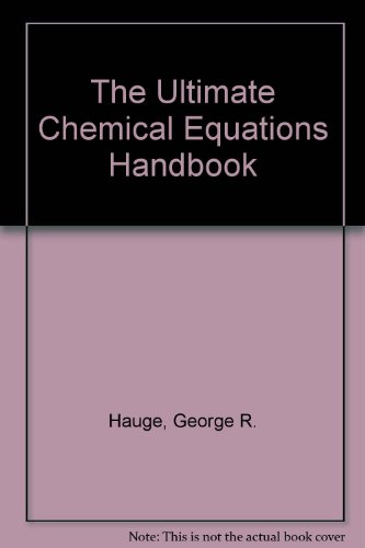 Ultimate Chemical Equations Handbook 1st edition cover