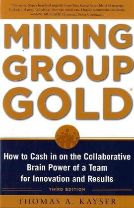 Mining Group Gold How to Cash in on the Collaborative Brain Power of a Team for Innovation and Results 3rd 2010 edition cover