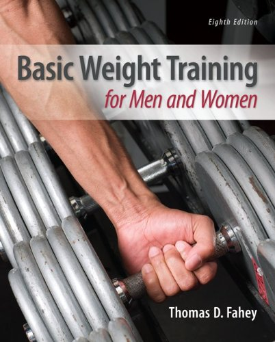 Basic Weight Training for Men and Women  8th 2013 edition cover