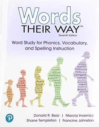 Words Their Way Word Study for Phonics, Vocabulary and Spelling Instruction with Words Their Way Digital and Enhanced Pearson EText -- Access Card Package 7th 9780135174623 Front Cover