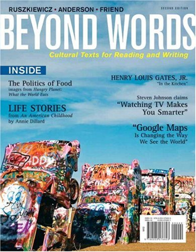 Beyond Words Cultural Texts for Reading and Writing 2nd 2009 edition cover