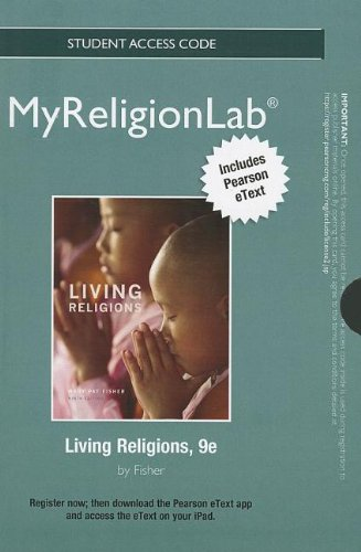 NEW MyReligionLab with Pearson EText -- Standalone Access Card -- for Living Religions  9th 2014 edition cover