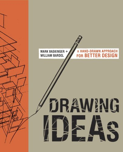 Drawing Ideas A Hand-Drawn Approach for Better Design  2013 edition cover
