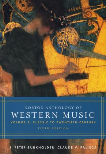Western Music Classic to Twentieth Century 5th 2005 edition cover
