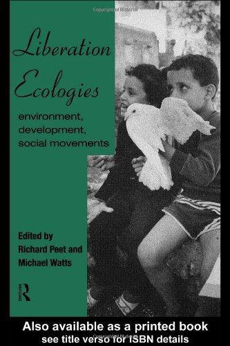 Liberation Ecologies Environment, Development, Social Movements  1996 edition cover